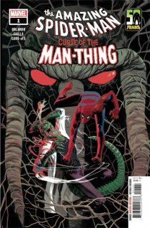 SPIDER-MAN CURSE OF MAN-THING #1