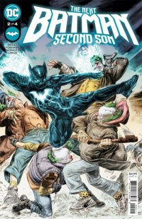 NEXT BATMAN SECOND SON #2 (OF 4) CVR A DOUG BRAITHWAITE