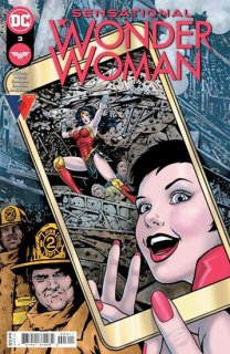 SENSATIONAL WONDER WOMAN #3 CVR A COLLEEN DORAN(※裏表紙に折れ目有り)