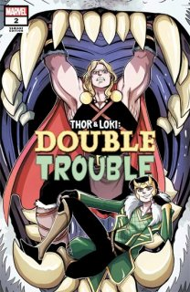 THOR AND LOKI DOUBLE TROUBLE #2 (OF 4) VECCHIO VAR【再入荷】