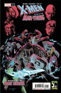 X-MEN CURSE MAN-THING #1