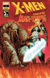 X-MEN CURSE MAN-THING #1 ZITRO VAR