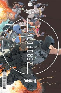BATMAN FORTNITE ZERO POINT #4 Second Printing