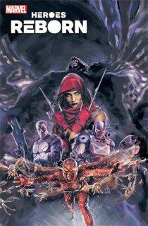 HEROES REBORN SQUADRON SAVAGE #1 BLATT VAR