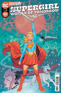 SUPERGIRL WOMAN OF TOMORROW #1 (OF 8) CVR A BILQUIS EVELY