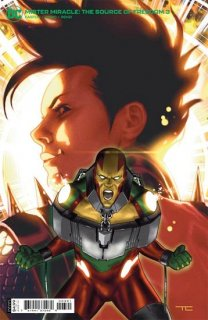 MISTER MIRACLE THE SOURCE OF FREEDOM #3 (OF 6) CVR B TAURIN CLARKE CARD STOCK VAR