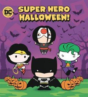 SUPER HERO HALLOWEEN BOARD BOOK