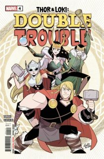 THOR AND LOKI DOUBLE TROUBLE #4 (OF 4)【再入荷】