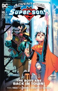 ADVENTURES OF THE SUPER SONS TP VOL 01 ACTION DETECTIVE【再入荷】