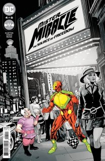 MISTER MIRACLE THE SOURCE OF FREEDOM #4 (OF 6) CVR A YANICK PAQUETTE