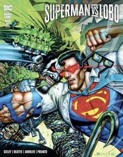 SUPERMAN VS LOBO #1 (OF 3) CVR B SIMON BISLEY VAR