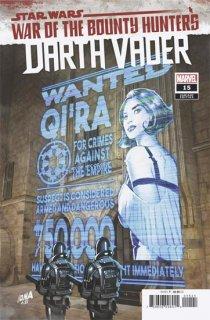 STAR WARS DARTH VADER #15 WANTED POSTER VAR WOBH
