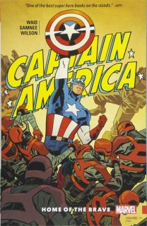 CAPTAIN AMERICA BY WAID AND SAMNEE TP VOL 01 HOME OF BRAVE【再入荷】