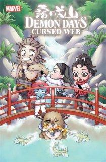 DEMON DAYS CURSED WEB #1 GARBOWSKA VAR