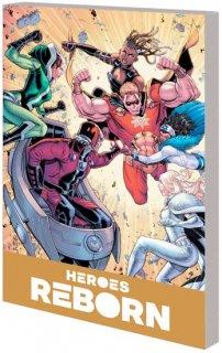 HEROES REBORN AMERICA MIGHTIEST HERO COMPANION TP VOL 01
