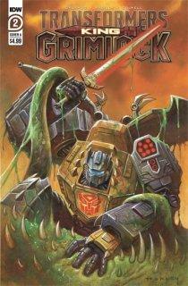 TRANSFORMERS KING GRIMLOCK #2 (OF 5) CVR A HORLEY