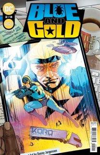 BLUE & GOLD #2 (OF 8) CVR A RYAN SOOK