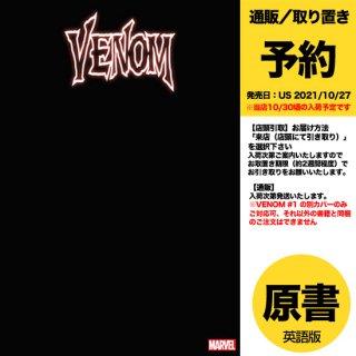 【予約】VENOM #1 BLACK BLANK VAR(US2021年10月27日発売予定)