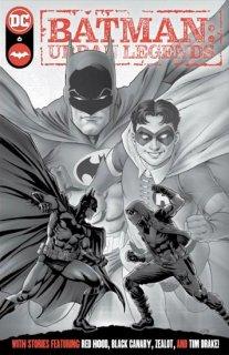 BATMAN URBAN LEGENDS #6 Second Printing