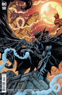 BATMAN VS BIGBY A WOLF IN GOTHAM #1 (OF 6) CVR B BRIAN LEVEL & JAY LEISTEN CARD STOCK VAR
