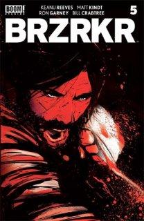 BRZRKR (BERZERKER) #5 (OF 12) CVR C GARBETT FOIL