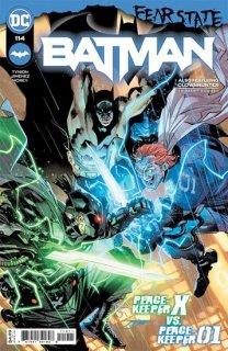 BATMAN #114 CVR A JORGE JIMENEZ (FEAR STATE)