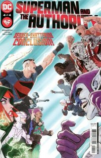 SUPERMAN AND THE AUTHORITY #4 (OF 4) CVR A MIKEL JANIN