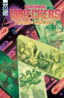 TRANSFORMERS WRECKERS TREAD & CIRCUITS #1 (OF 4) CVR B  MALK