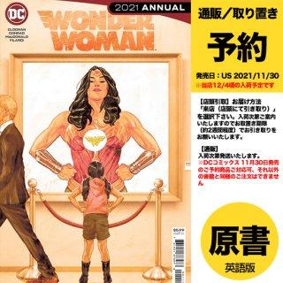 【予約】WONDER WOMAN 2021 ANNUAL #1 CVR A MITCH GERADS(US2021年11月30日発売予定)