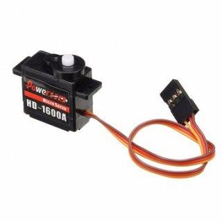 パワーHD-1600A 1.3KG 6gマイクロサーボスチールリングエンジンFutaba / JR RCカーパーツ対応