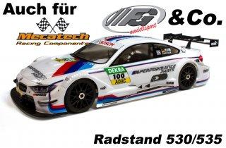 FG FG BMW M4 1/5 ボディ 530/535 mm  (クリアー)