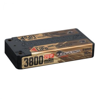 SUNPADOW Competition Short-Pack Lipo Battery 3800mAh-7.4V-2S1P