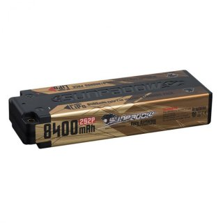 SUNPADOW Competition Lipo Battery 8400mAh-7.4V-2S2P