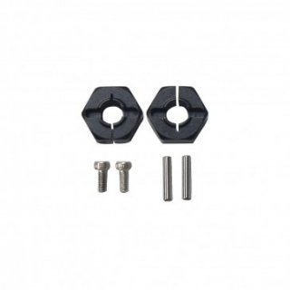6MM Hex. Hub Set(Metal,Black) FG8064BK