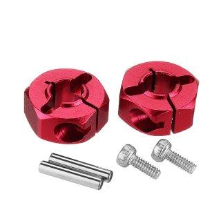 6MM Hex. Hub Set(Metal,Red) FG8064RD