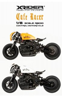 X-RIDER 1/8 CAFE RACER ARTR