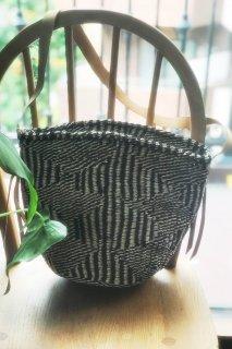 [People Tree] 手編みサイザル ショルダーバケツバッグ