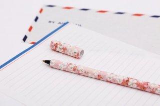型染紙のボールペン