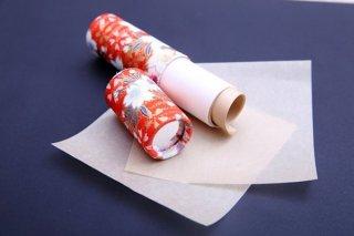 脂取り紙の紙管(ミラー付き)