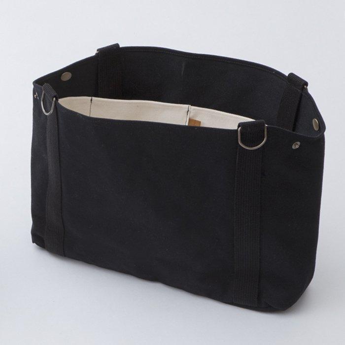 バッグインバッグ Lサイズ 黒 【着せ替えバッグ】