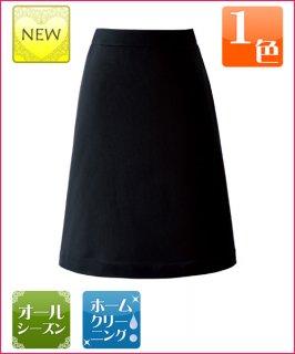 ウエストゆったりニット素材のAラインスカート55cm丈|ジョア 51813