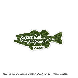 <img class='new_mark_img1' src='https://img.shop-pro.jp/img/new/icons13.gif' style='border:none;display:inline;margin:0px;padding:0px;width:auto;' />GREAT FISH STICKER M|グレートフィッシュステッカー Mサイズ
