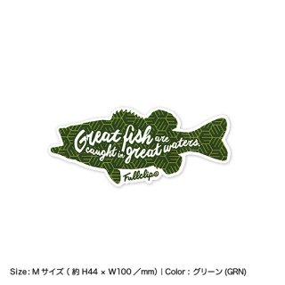 GREAT FISH STICKER M|グレートフィッシュステッカー Mサイズ