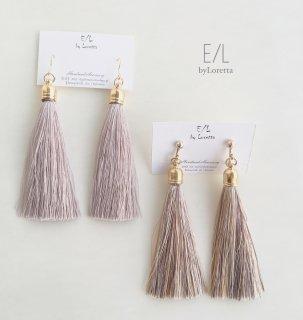 Long tassel pierce/earring