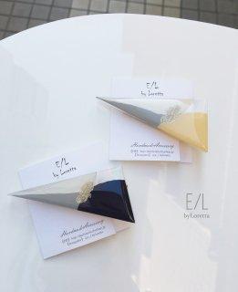 (全2色)Triangle 3color hair clip