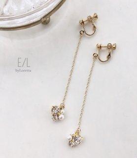 Chain bijou pierce/earring