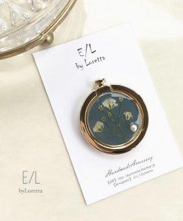 スマホ Ring flower pearl