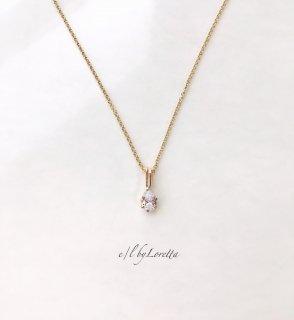 キュービックジルコニア 14kgf necklace