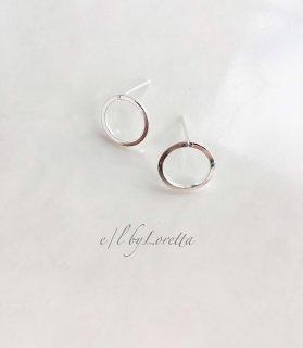 Silver925 mini circle pierce