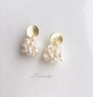 Metal plate pearl ball pierce